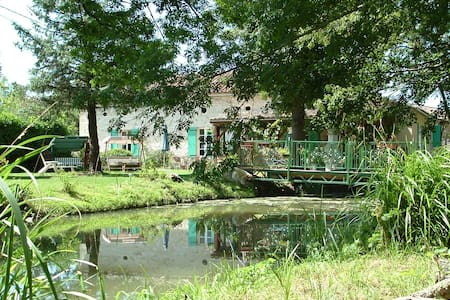 Mill House, water mill with pool - Dom