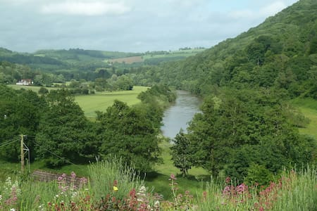 Super-king room with gorgeous view - Llandogo - Bed & Breakfast