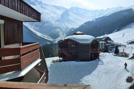 Appartment 8p at the foot of the slopes Les7Laux - La Ferrière