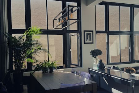 Designer apprtmnt centre of Haarlem - Daire