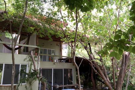 Right at a Secret virgin beach! - San Pedro Pochutla - House