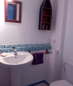Habitación 2 camas con ducha. - Haus