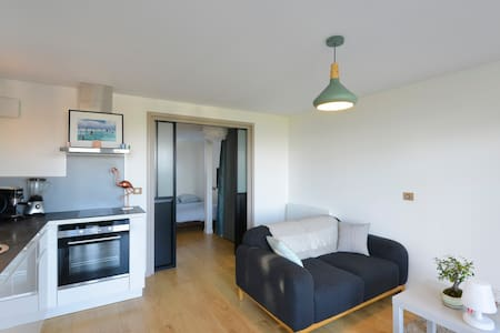 Beau studio face mer - Larmor-Plage - Apartment