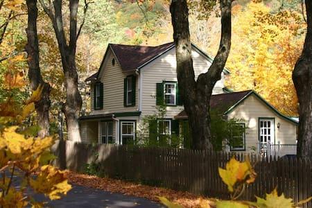 The Waterfall House- near Woodstock NY - Palenville - Casa