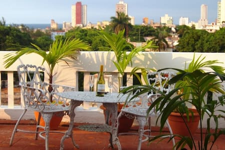 ''Bella Vista''Pent-house with a view to the sea. - La Habana - Apartment