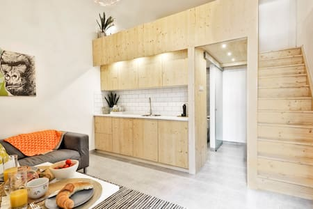 cool, modern studio in city centre - Huoneisto