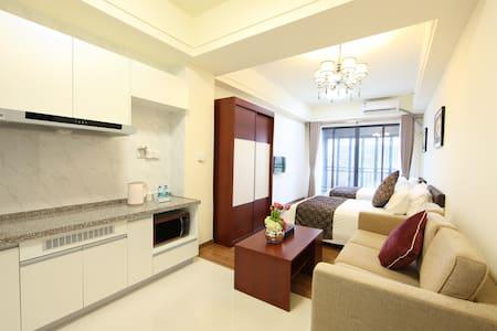 近新白云机场  碧桂园风琪公寓  豪华双床房 - Guangzhou - Apartemen