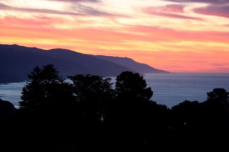 Beautiful Big Sur with pool/spa, close in location - Big Sur - House