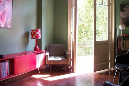 Downtown vintage-style room - Apartament