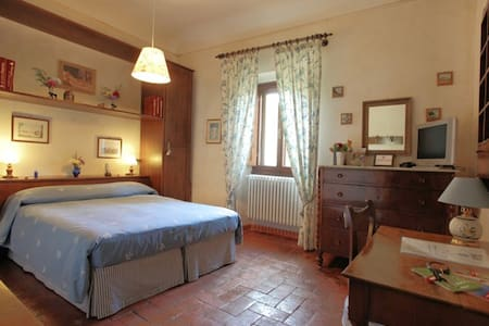 Blue Room in Florence Hills' Villa - Bagno A Ripoli - Bed & Breakfast
