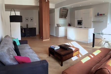 Beau 2 pièces, climatisation, balcon et WIFI - Nicea - Apartament