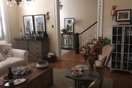 Beautiful private suite in historic district - House
