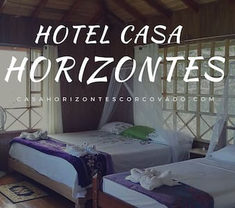 Hotel Casa Horizontes Corcovado - Bungaló