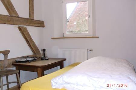 Schlafzimmer im Bauernhaus - Pinzberg - Casa