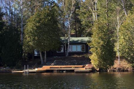 Merrymeet  Cottage on Rebecca Lake - Huntsville