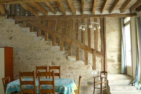 Les Lattis:  3 chambres, 6 pers - Avernes - Hus