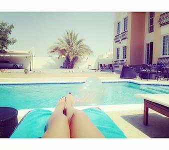 Large En Suite In Villa with Pool close to MoE - Dubai  - Villa