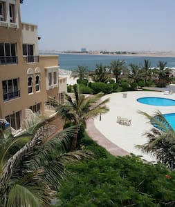 Enjoy a piece of ths peac@Marjan Island/Bab Albahr - Apartment