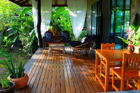 Beautiful Tropical Modern house2, outdoor bathtube - Ko Pha Ngan