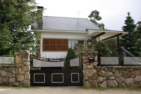 Villa Karina, vivir la naturaleza en Valdemanco - Villa