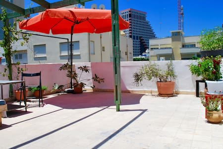 Private Rooftop Terrace / Beach Front /City Center - Tel Aviv-Yafo - Apartment