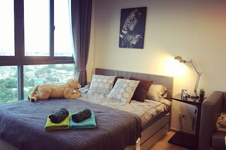 Near BTS Hi-Speed Net,Pool&Gym 7-11 - Appartement