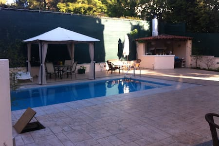 Luxurious maison with piscine and bbq - Agios Stefanos