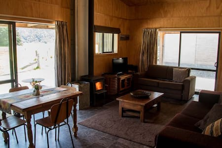 The Barn at WildEarthLodge - Makarora - Chalet
