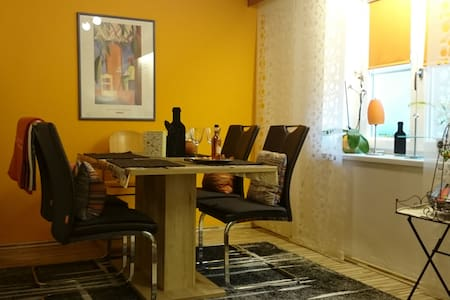 Lovely renovated old city apartment near the river - Lakás