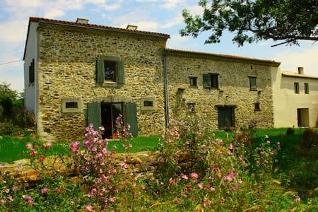 Beautiful renovated farm hse w/view - Labécède-Lauragais