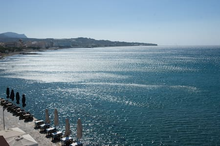 Spacious luxurious flat - magnificent sea view - Ierapetra - Apartment