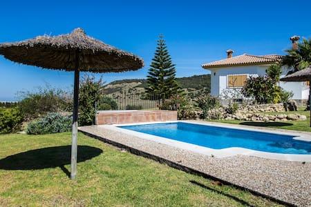 7 bed villa, pool, garden, sea view - Vejer de la Frontera - Villa