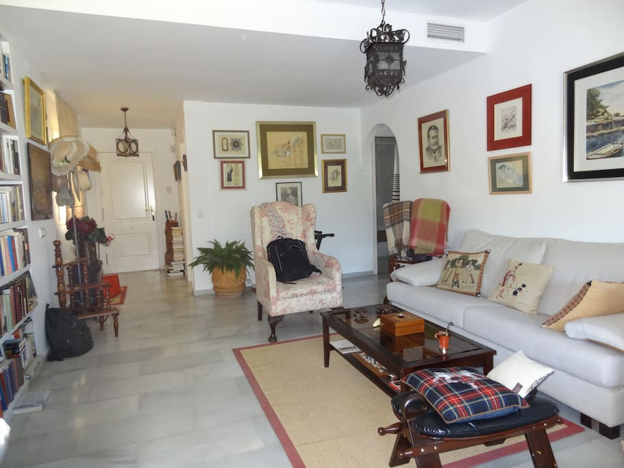 Salón /living room