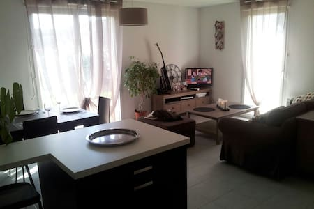 Chambre privée ds appt avec jardin - Apartament