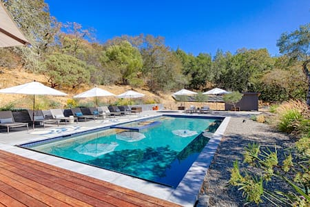 Private Sonoma House with Pool - Hus