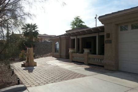 Amazing views from private bedroom. - Lake Havasu City - House