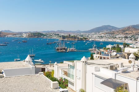 Amazing View in Central Bodrum - Apartemen