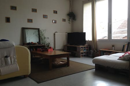 Chambre au 1er étage d'un duplex - Byt