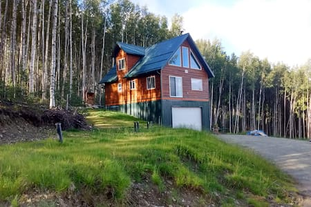 New House (Aurora hiking ski views) - Fairbanks - House