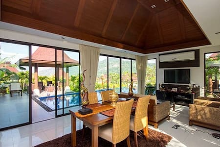 Bali Style Villa with Panoramic Mountain View - Vila