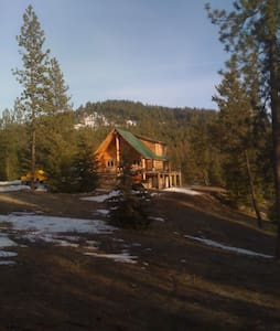 Log Home 20 acres lakeview - Casa