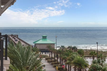 5th Floor Condo with ocean and nightlife views! - Jacksonville Beach - Condominium