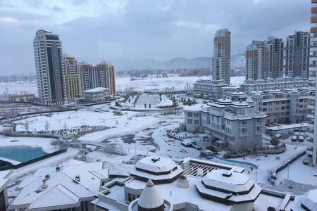 Bursada iş ve tatil- Business and Holiday in Bursa - Bursa - Apartment