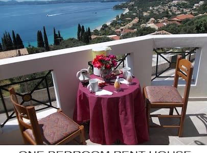 One-bedroom Apartment Roof Garden with sea view - Daire