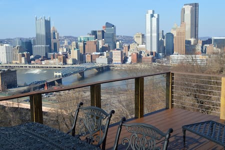 City Skyline & Close to Everything! - Pittsburgh - Apartamento