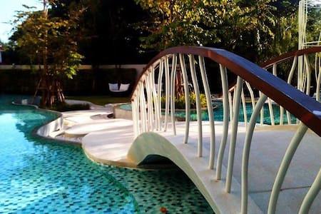 Cozy new condo - sunrise on Balcony - Nong Kae - Huoneisto