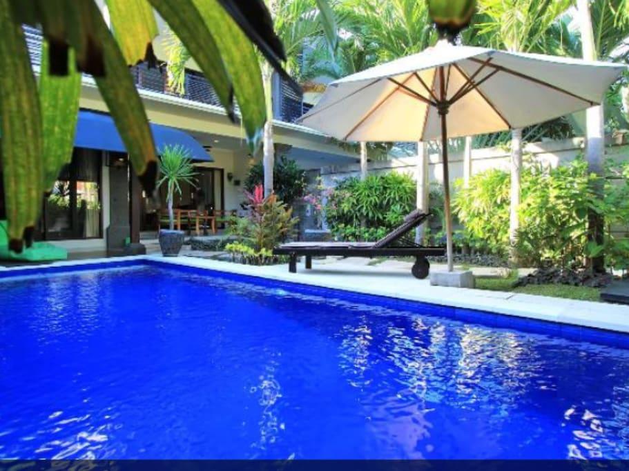 Villa Tunjung- unique private oasis
