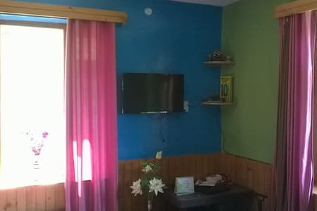 Soni Cottage in Peaceful Apple Orchard Room 1 - Manali - Casa