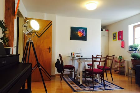 Cozy, Altstadt Studio-Retreat - Landsberg am Lech - Apartemen