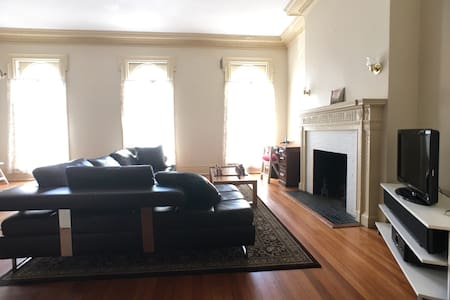 Historical, spacious, sunny urban retreat +parking - Baltimore - Appartement